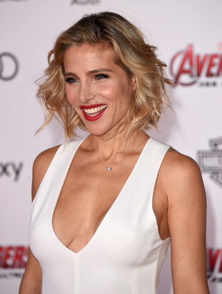 Elsa Pataky Curled Out Bob [avengers: age of ultron,hair,blond,hairstyle,beauty,skin,lip,premiere,brown hair,eyelash,smile,elsa pataky,arrivals,california,hollywood,dolby theatre,marvel,premiere]