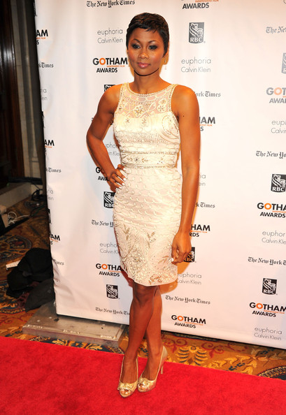 Emayatzy Corinealdi Beaded Dress