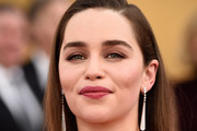 Emilia Clarke Long Side Part