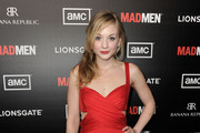 Emily Kinney Cutout Dress