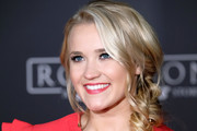 Emily Osment Loose Braid