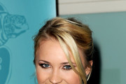Emily Osment Messy Updo