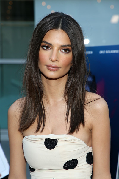 Emily Ratajkowski Long Straight Cut