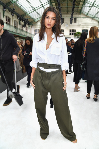 Emily Ratajkowski Button Down Shirt