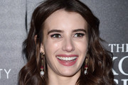 Emma Roberts Pearl Drop Earrings