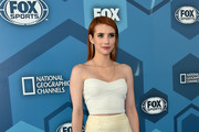 Emma Roberts Tube Top