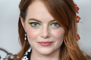Emma Stone Half Up Half Down