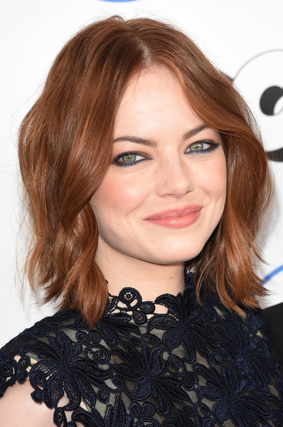 Emma Stone Jewel Tone Eyeshadow