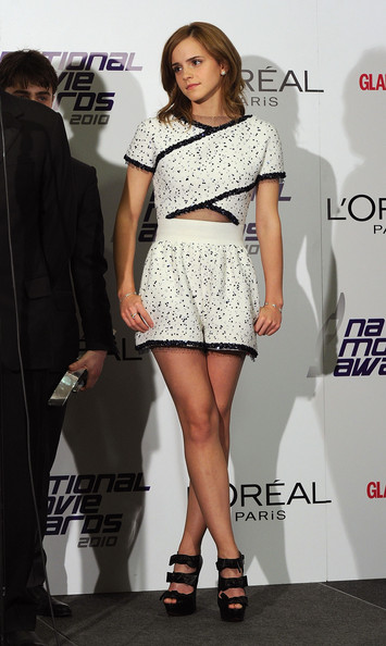 Emma Watson Cutout Dress