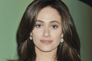 Emmy Rossum Long Center Part