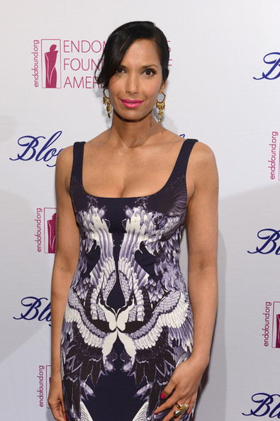More Pics of Padma Lakshmi Print Dress (3 of 39) - Padma Lakshmi Lookbook - StyleBistro