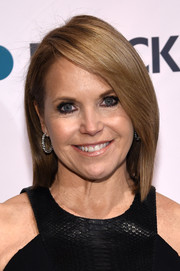 Katie Couric attended the Stand Up to Cancer event sporting a sleek mid-length bob.