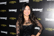Actress Jenna Ushkowitz arrives at Entertainment Weekly's celebration honoring the 17th Annual Screen Actors Guild Awards nominees hosted by Jess Cagle and presented by L'Oreal Paris at Chateau Marmont on January 29, 2011 in Los Angeles, California.