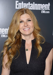 Connie Britton wore her hair in long flowing waves for the ABC Upfront VIP party.