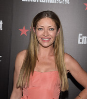 Rebecca Gayheart wore her hair long and pin-straight at the Entertainment Weekly SAG Awards nominee celebration.