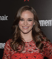 Danielle Panabaker sported a picture-perfect curly hairstyle at the Entertainment Weekly SAG Awards nominee celebration.