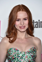 Madelaine Petsch looked sweet with her face-framing waves at the Entertainment Weekly Comic-Con celebration.
