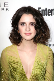 Laura Marano looked adorable wearing this big curly hairstyle during Entertainment Weekly's SAG Awards nominees celebration.