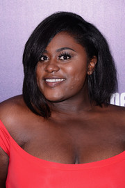Danielle Brooks looked stylish and trendy wearing this asymmetrical bob at the Entertainment Weekly and People celebration of the New York Upfronts.