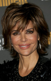 Lisa Rinna attended the Entertainment Weekly pre-Emmy party wearing her trademark layered razor cut.