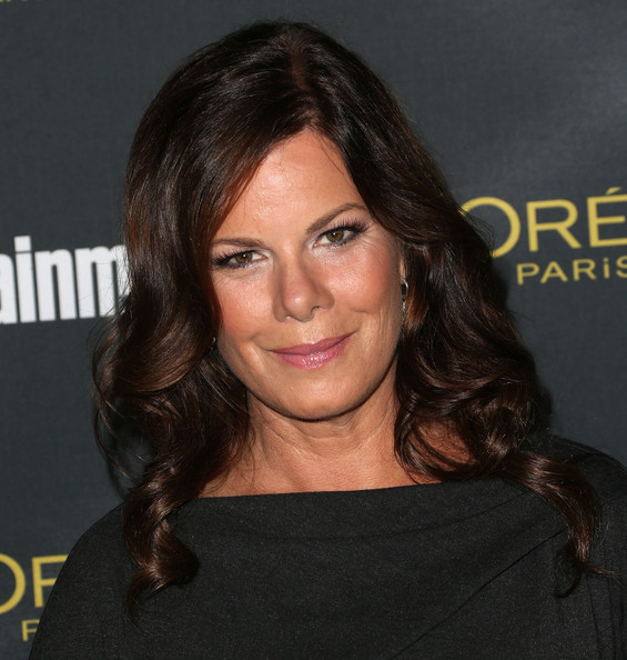 Marcia Gay Harden looked sweet with her spiral curls at the Entertainment Weekly pre-Emmy party.