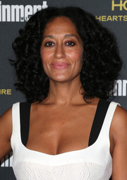 Tracee Ellis Ross sported big, fluffy curls at the Entertainment Weekly pre-Emmy party.
