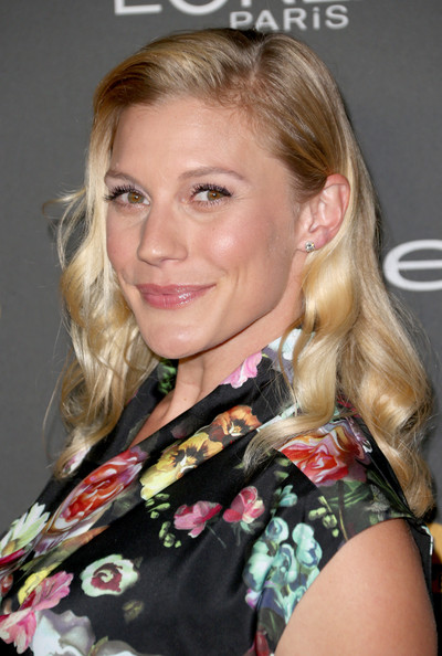 More Pics of Katee Sackhoff Print Dress (1 of 4) - Print Dress Lookbook - StyleBistro