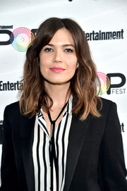 Mandy Moore looked lovely with her shoulder-length ombre waves during Entertainment Weekly's PopFest.