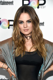 Jojo sported hippie-glam waves during Entertainment Weekly's PopFest.