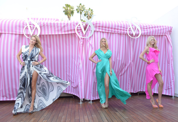 Victoria's Secret Summer 2012 What Is Sexy? Launch With Doutzen Kroes, Erin Heatherton And Lindsay Ellingson