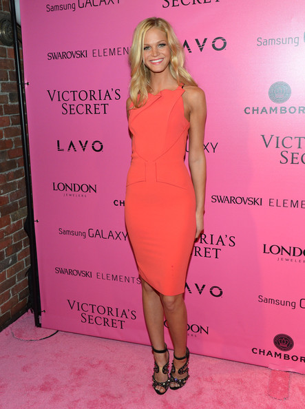 Erin Heatherton Peep Toe Pumps