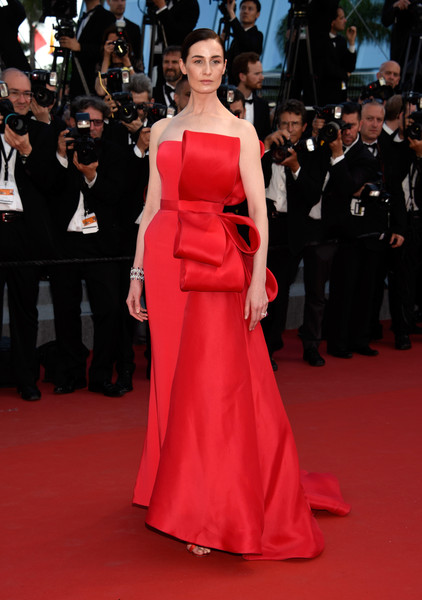 Erin O'Connor Strapless Dress
