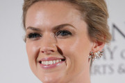 Erin Richards Loose Bun