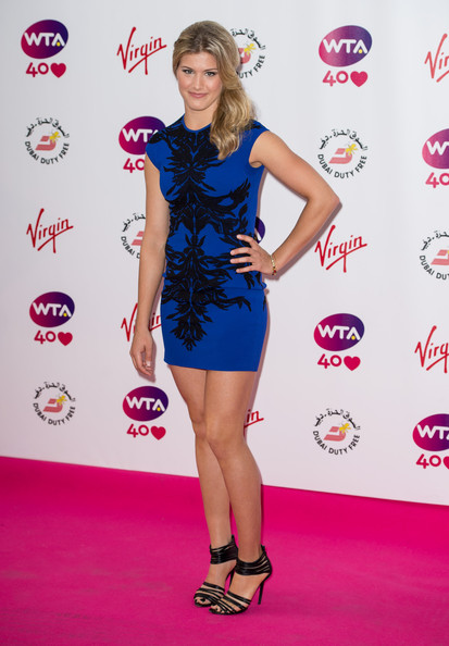 Eugenie Bouchard Strappy Sandals