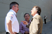 Ross Brawn and Jean Todt Photo