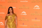 Beyonce Knowles-Carter Off-the-Shoulder Dress