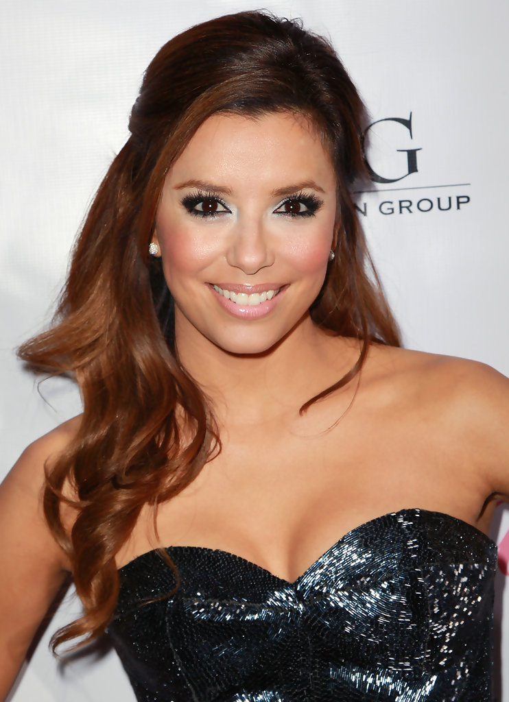 "Eva Longoria Parker attends the launch of her fragrance ""Eva by Eva Longoria"" at Beso on April 27, 2010 in Los Angeles, California."