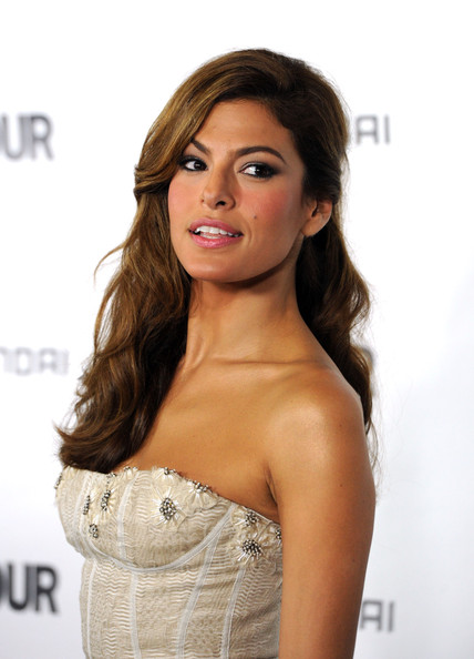 Eva Mendes Long Curls