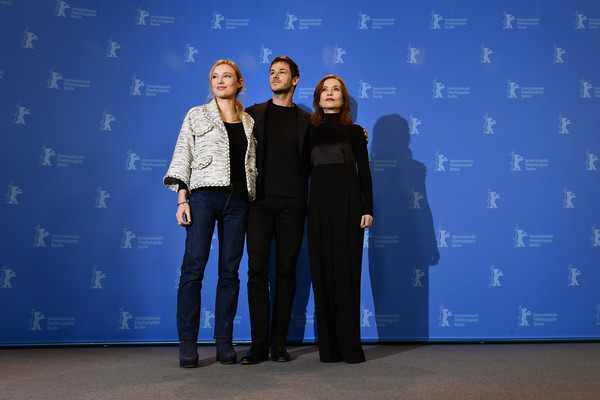 More Pics of Isabelle Huppert Turtleneck (1 of 19) - Tops Lookbook - StyleBistro [blue,event,design,sky,electric blue,performance,eva,isabelle huppert,julia roy,gaspard ulliel,photo call,l-r,grand hyatt hotel,berlin,berlinale international film festival,photo call]