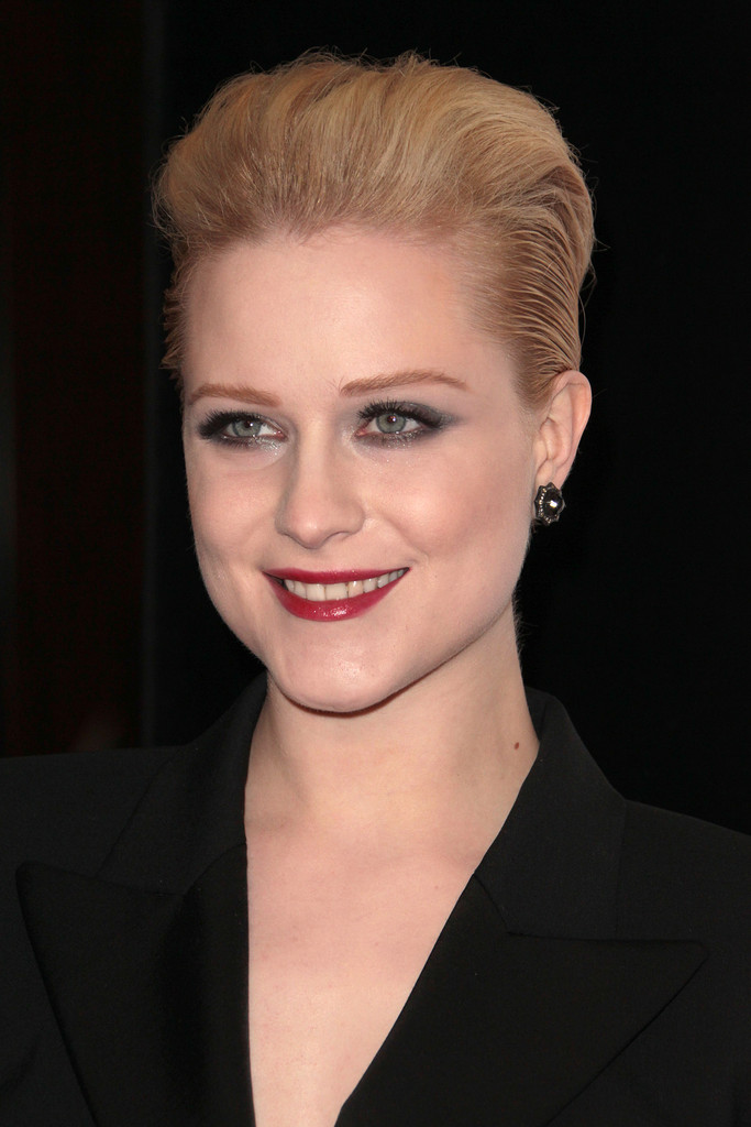 evan rachel wood layered razor cut short hairstyles