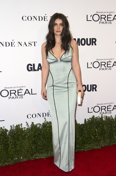 Eve Hewson Form-Fitting Dress