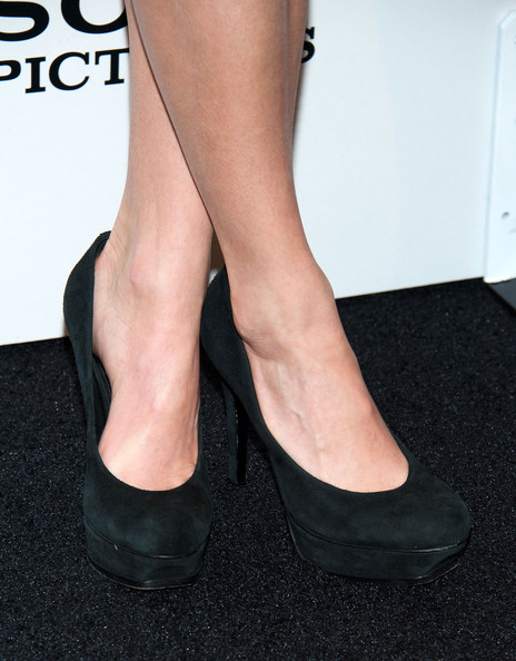More Pics of Nikki Reed Platform Pumps (1 of 7) - Heels Lookbook - StyleBistro