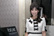 Daisy Lowe Wears Black and White Day Dress