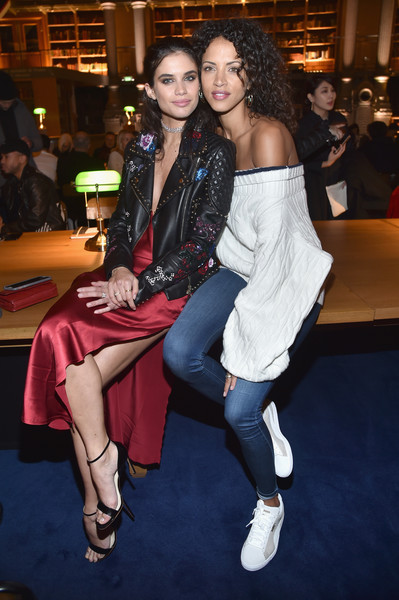 Sara Sampaio and Noemie Lenoir at FENTY PUMA by Rihanna