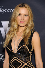 Petra Nemcova was a boho babe with her center-parted waves during the Weinstein Company Oscar nominees dinner.