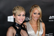 Miley Cyrus and Leticia Cyrus Photo