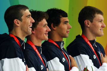 Ryan Lochte Ricky Berens (FILE) In Profile: Michael Phelps, Olympic Medals
