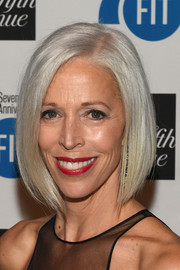 Linda Fargo gave us hair envy with her super-sleek graduated bob at the FIT Foundation Gala.