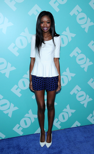 Nicole Beharie at the 2013 FOX Programming Presentation Post-Party