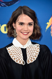 Maia Mitchell looked adorable with her wavy bob at the 2018 Teen Choice Awards.